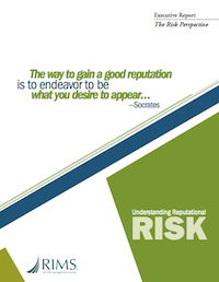 Understanding Reputational Risk